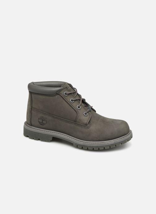 Bottines et boots Timberland Nellie Chukka Double Gris vue détail/paire