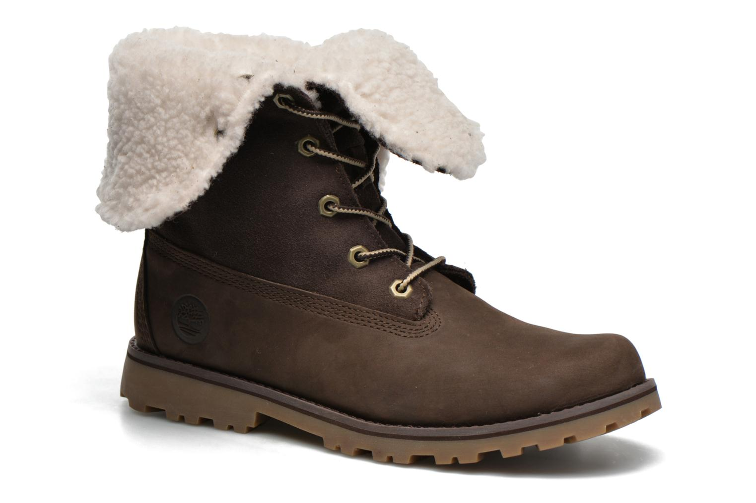 Bottines et boots Timberland 6 In WP Shearling Bo Marron vue détail/paire