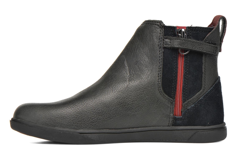 Stiefeletten & Boots Timberland Groveton Chelsea schwarz ansicht von vorne