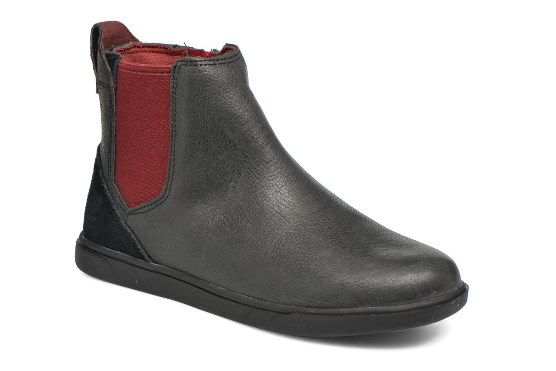 Stiefeletten & Boots Timberland Groveton Chelsea schwarz detaillierte ansicht/modell
