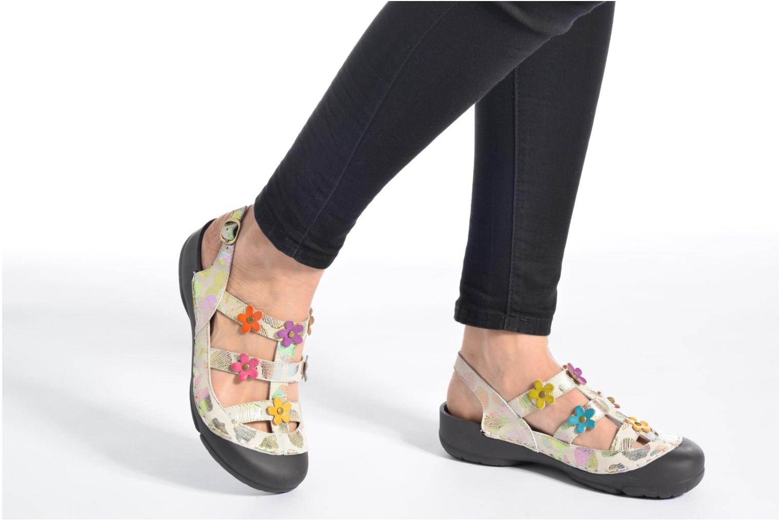 Mules & clogs Laura Vita Beziers 11 Multicolor view from underneath / model view