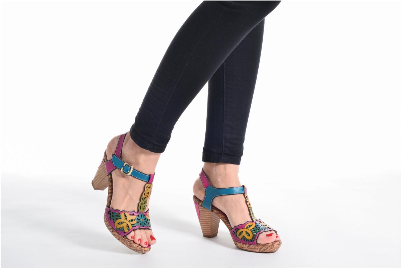 Sandales et nu-pieds Laura Vita Betty 11 Multicolore vue bas / vue portée sac