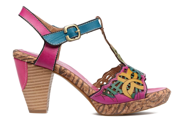 Sandales et nu-pieds Laura Vita Betty 11 Multicolore vue derrière