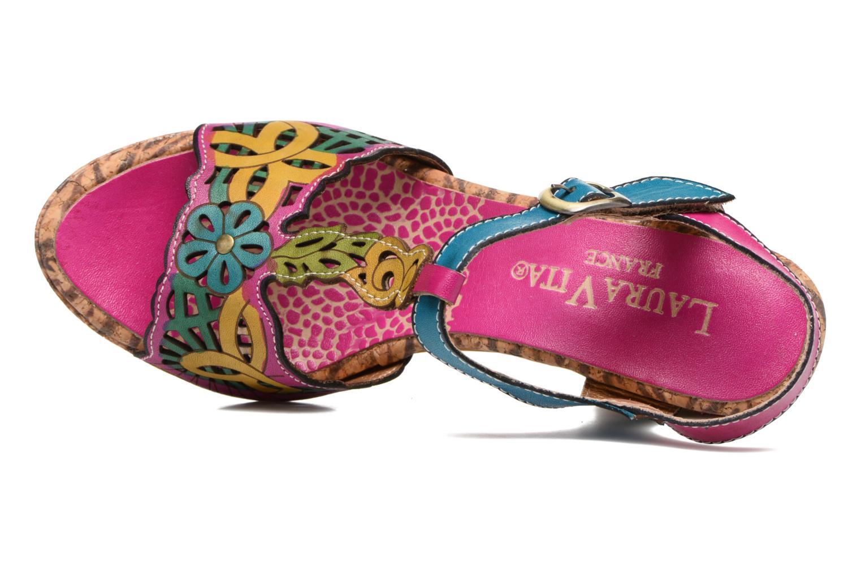 Sandales et nu-pieds Laura Vita Betty 11 Multicolore vue gauche