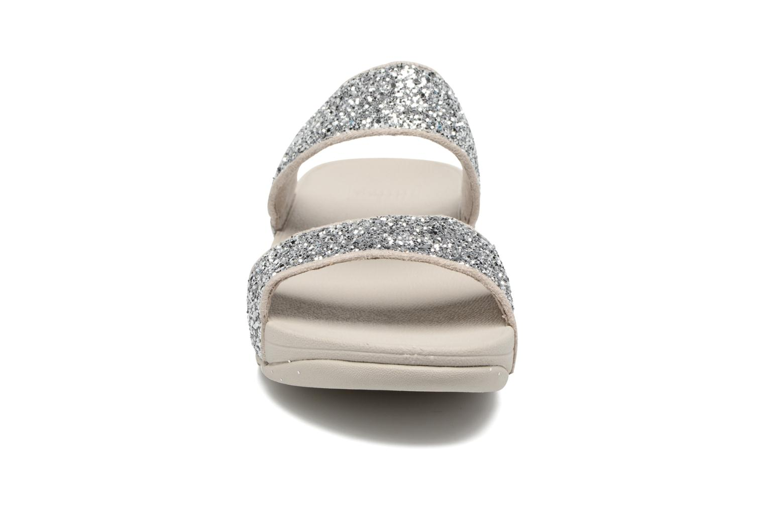 Mules & clogs FitFlop Glitterball Slide Silver model view