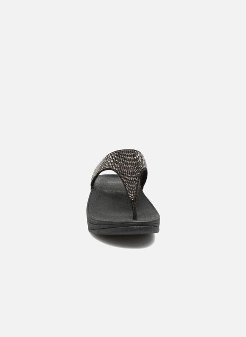 Tongs FitFlop Slinky Rokkit Noir vue portées chaussures