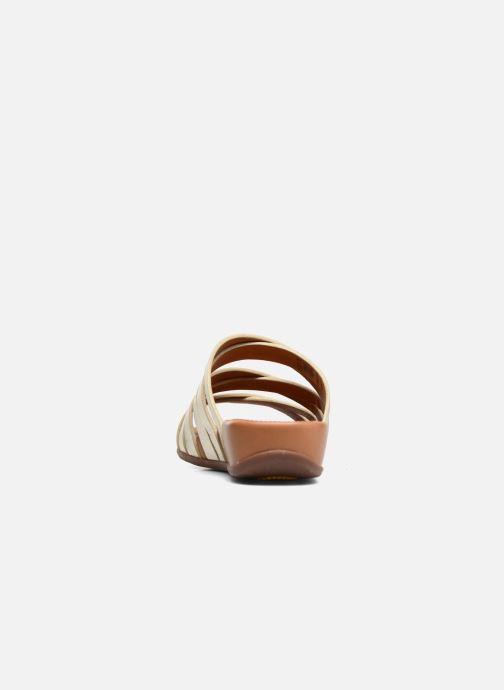 Clogs & Pantoletten FitFlop Lumy Leather Slide gold/bronze ansicht von rechts