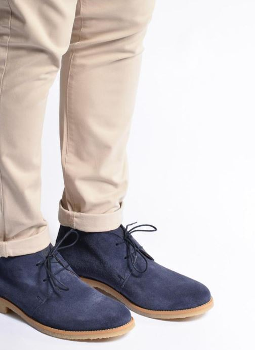 Lace-up shoes Mr SARENZA Soldnen Blue view from underneath / model view