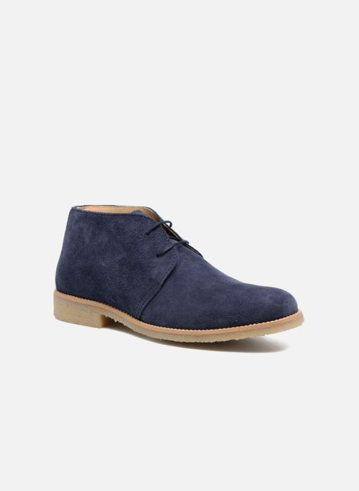 Lace-up shoes Mr SARENZA Soldnen Blue view from the right