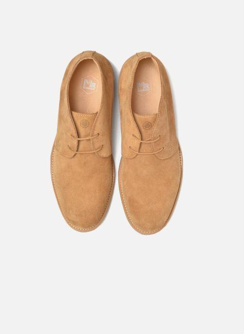 Zapatos con cordones Mr SARENZA Soldnen Marrón vista del modelo