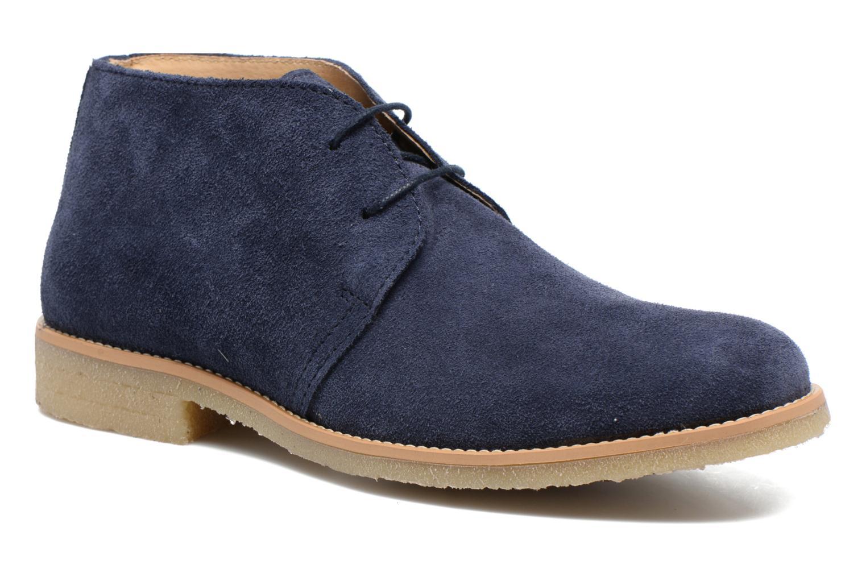 Chaussures à lacets Mr SARENZA Soldnen Bleu vue droite