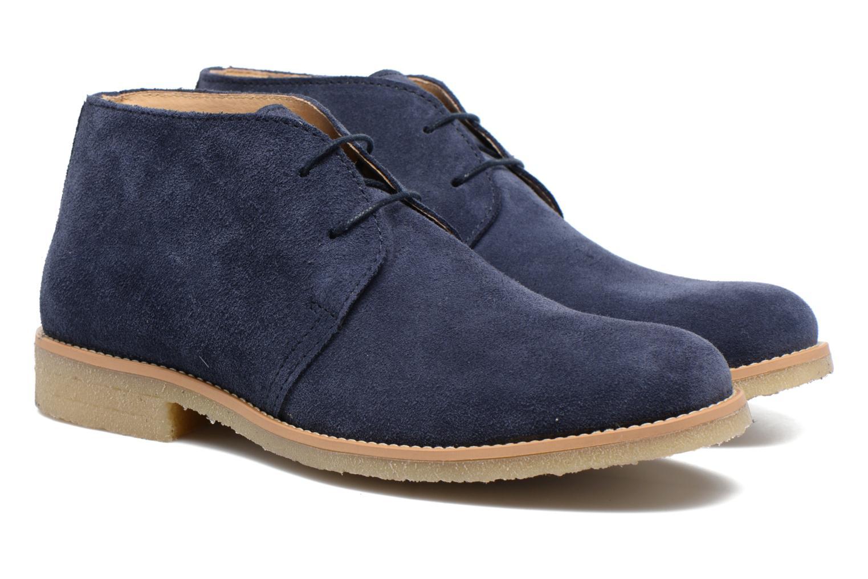 Chaussures à lacets Mr SARENZA Soldnen Bleu vue derrière