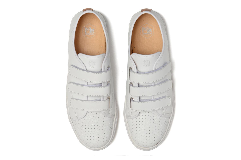 Baskets Mr SARENZA Sint Blanc vue portées chaussures