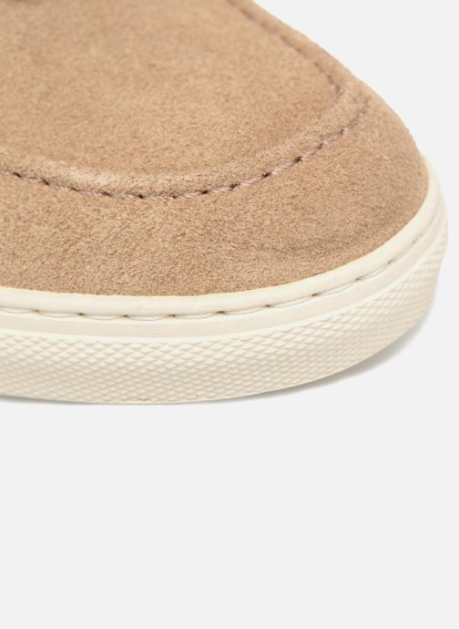 Slipper Mr SARENZA Sokhor beige ansicht von links