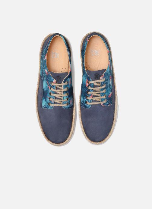 Baskets Mr SARENZA Setubal Bleu vue portées chaussures