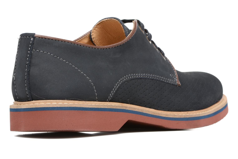 Chaussures à lacets Mr SARENZA Sandoring Bleu vue face