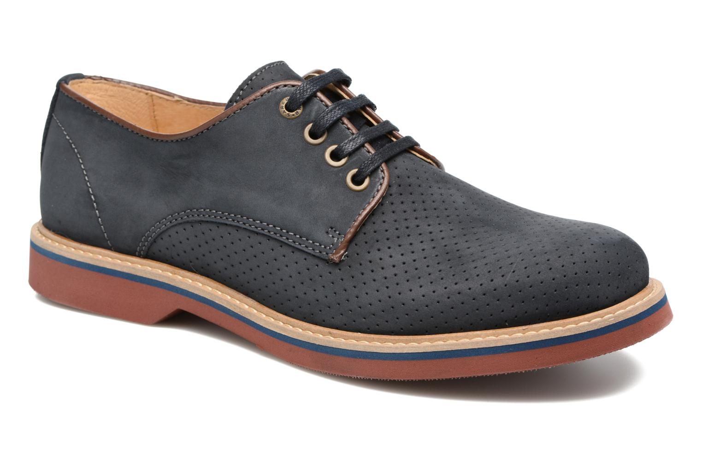 Chaussures à lacets Mr SARENZA Sandoring Bleu vue droite