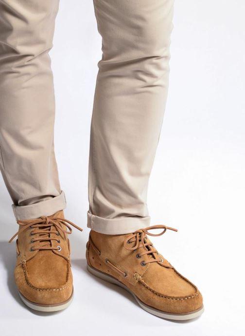 Zapatos con cordones Mr SARENZA Stavanger Marrón vista de abajo