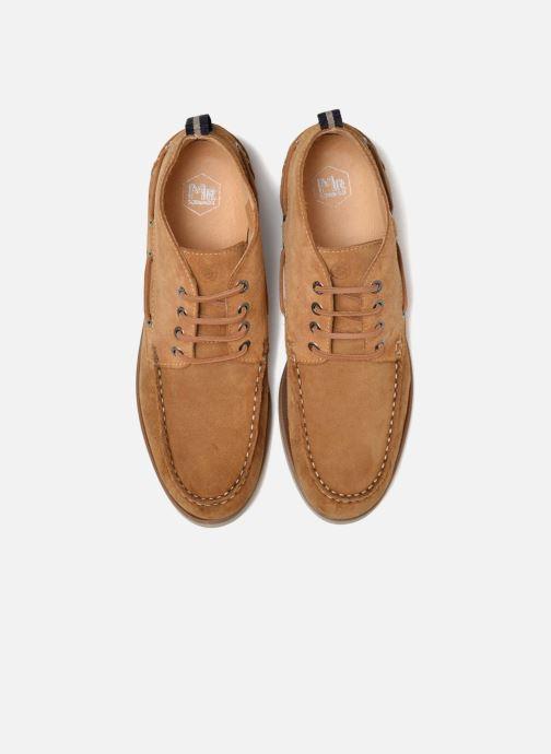 Zapatos con cordones Mr SARENZA Stavanger Marrón vista del modelo