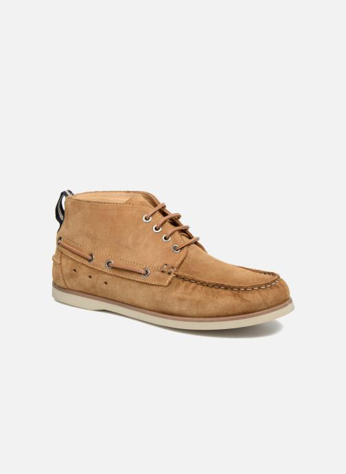Zapatos con cordones Mr SARENZA Stavanger Marrón vista lateral derecha