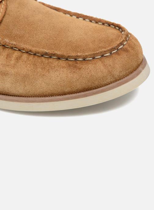 Zapatos con cordones Mr SARENZA Stavanger Marrón vista lateral izquierda