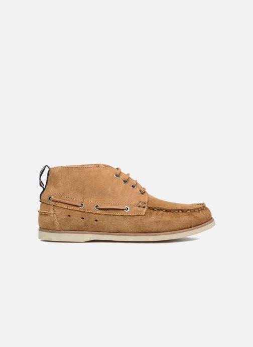 Snøresko Mr SARENZA Stavanger Brun detaljeret billede af skoene
