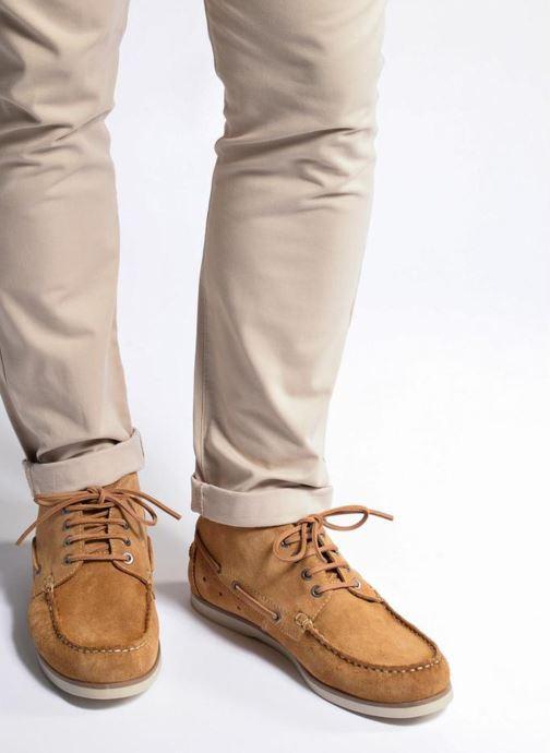 Zapatos con cordones Mr SARENZA Stavanger Azul vista de abajo
