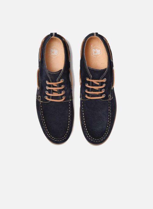 Zapatos con cordones Mr SARENZA Stavanger Azul vista del modelo