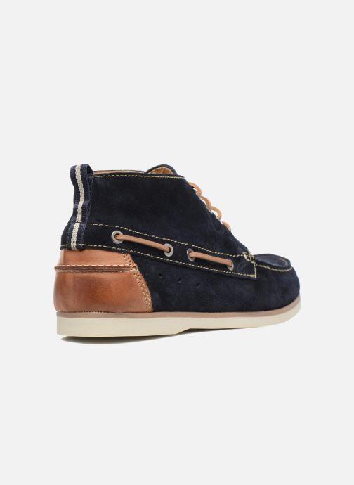 Zapatos con cordones Mr SARENZA Stavanger Azul vista de frente