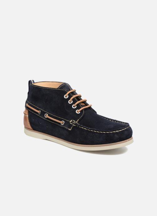 Zapatos con cordones Mr SARENZA Stavanger Azul vista lateral derecha