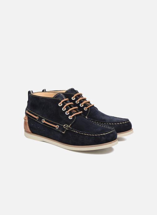 Zapatos con cordones Mr SARENZA Stavanger Azul vistra trasera