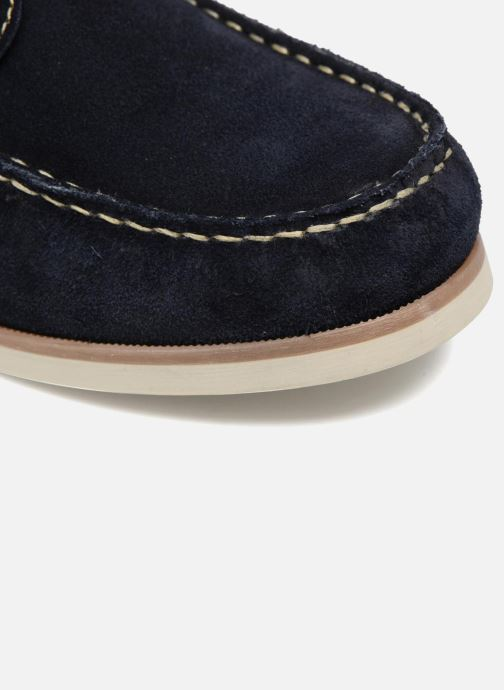 Zapatos con cordones Mr SARENZA Stavanger Azul vista lateral izquierda
