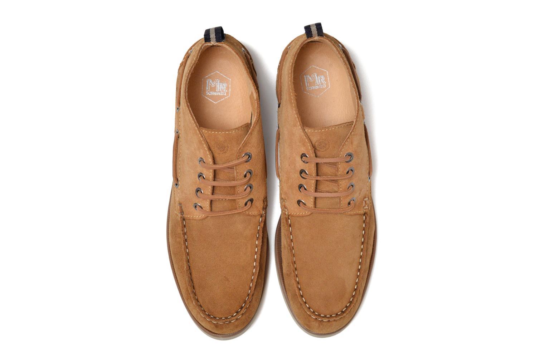 Chaussures à lacets Mr SARENZA Stavanger Marron vue portées chaussures
