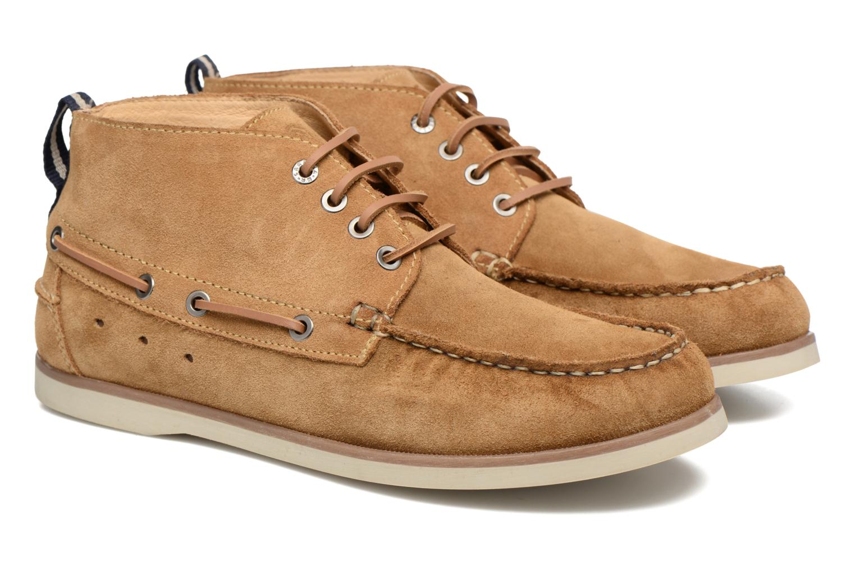 Chaussures à lacets Mr SARENZA Stavanger Marron vue derrière