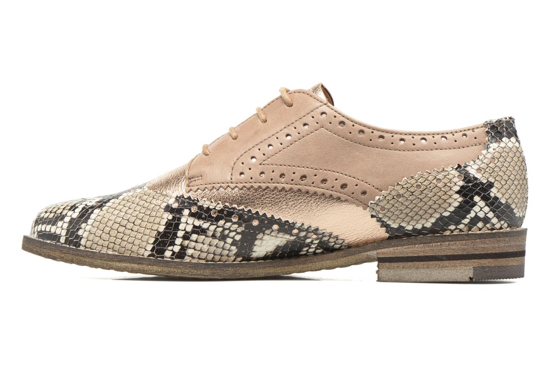 Chaussures à lacets Ara Kent 31210 Beige vue face