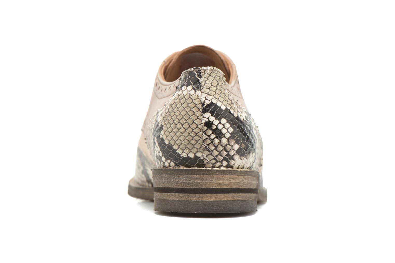 Chaussures à lacets Ara Kent 31210 Beige vue droite