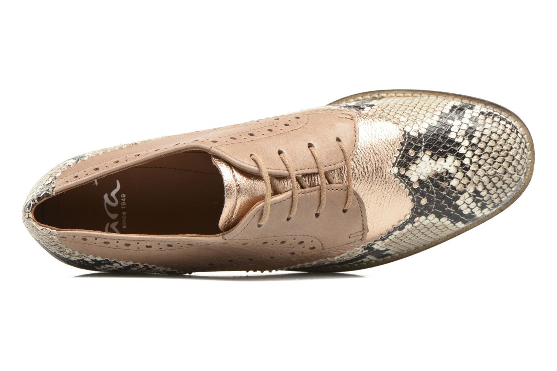 Chaussures à lacets Ara Kent 31210 Beige vue gauche