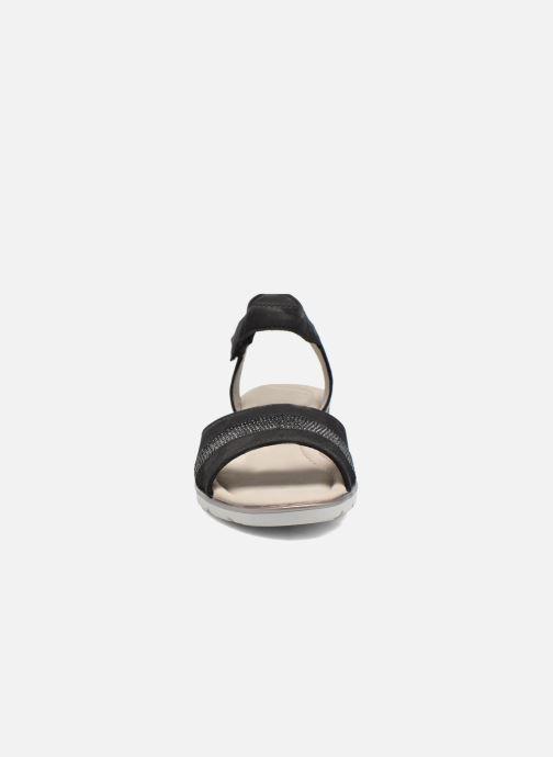 Sandales et nu-pieds Ara Alassio 33526 Noir vue portées chaussures