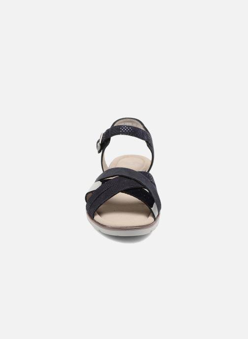 Sandales et nu-pieds Ara Alassio 33530 Noir vue portées chaussures