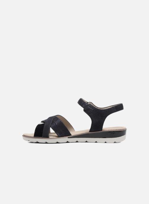 Sandales et nu-pieds Ara Alassio 33530 Noir vue face