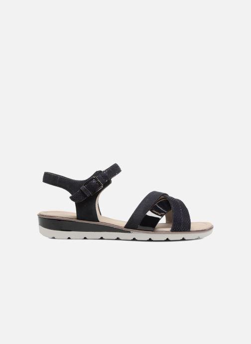 Sandales et nu-pieds Ara Alassio 33530 Noir vue derrière