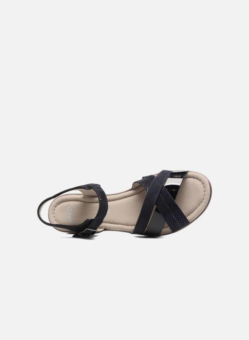 Sandales et nu-pieds Ara Alassio 33530 Noir vue gauche
