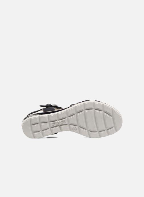 Sandales et nu-pieds Ara Alassio 33530 Noir vue haut