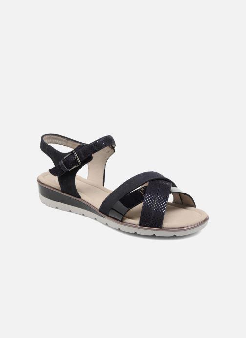 Sandales et nu-pieds Ara Alassio 33530 Noir vue détail/paire
