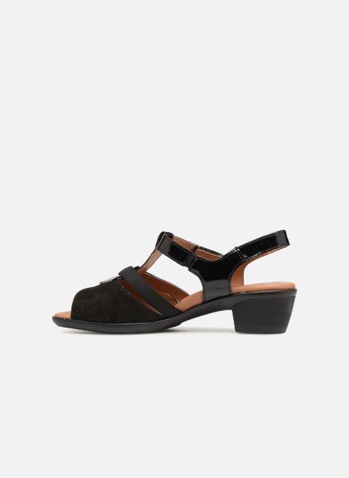 Sandales et nu-pieds Ara Lugano 35715 Noir vue face