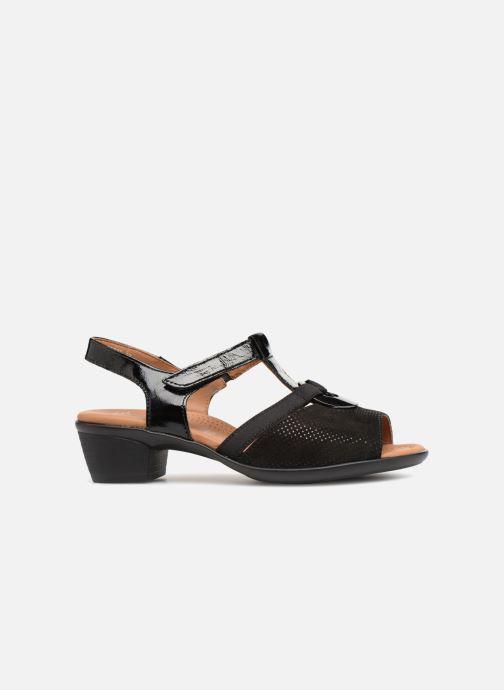 Sandales et nu-pieds Ara Lugano 35715 Noir vue derrière