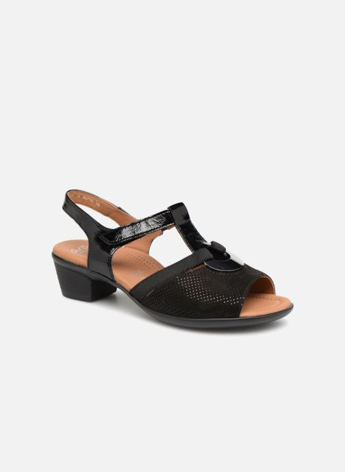 Sandales et nu-pieds Ara Lugano 35715 Noir vue détail/paire