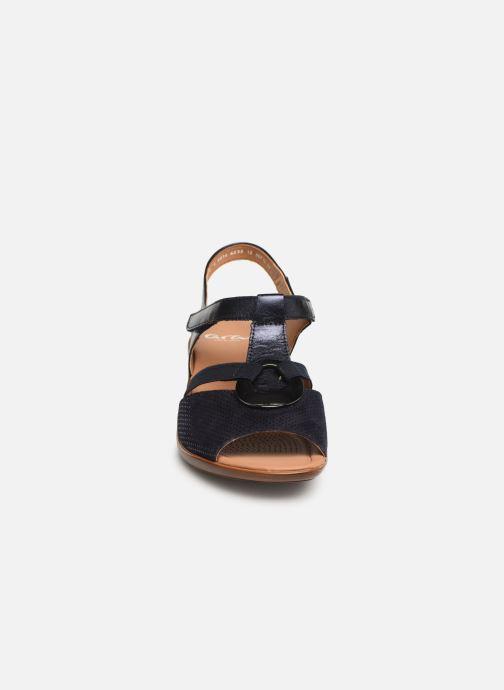 Sandales et nu-pieds Ara Lugano 35715 Bleu vue portées chaussures