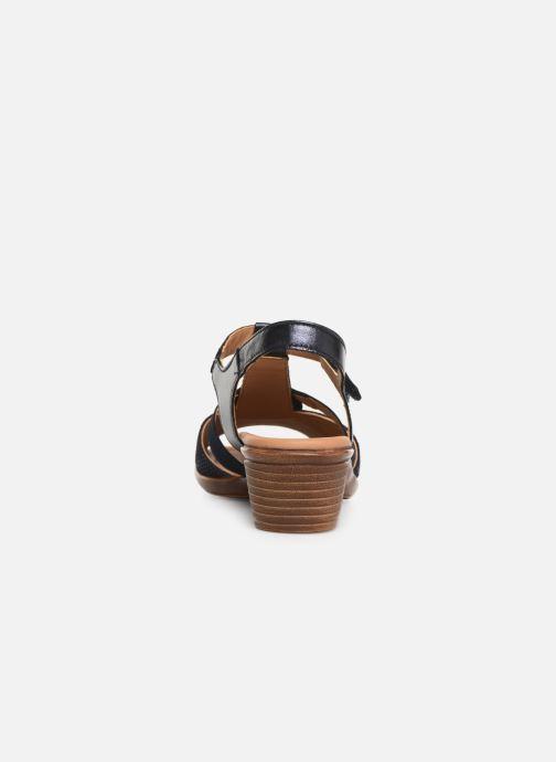 Sandaler Ara Lugano 35715 Blå Se fra højre