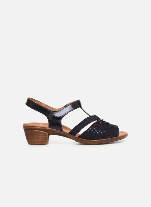 Sandales et nu-pieds Ara Lugano 35715 Bleu vue derrière